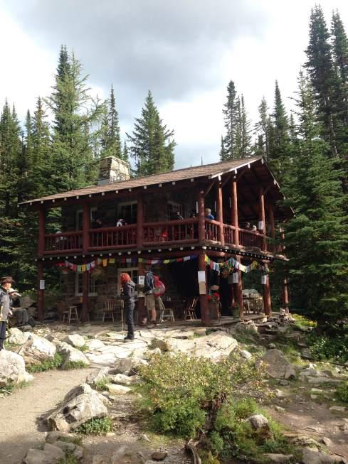 The teahouse!