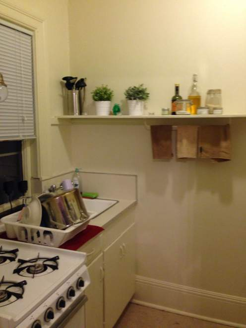 Our tiny kitchen