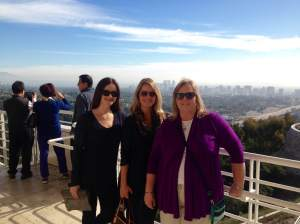 Visiting my mom (center) and aunt Bente in LA last week