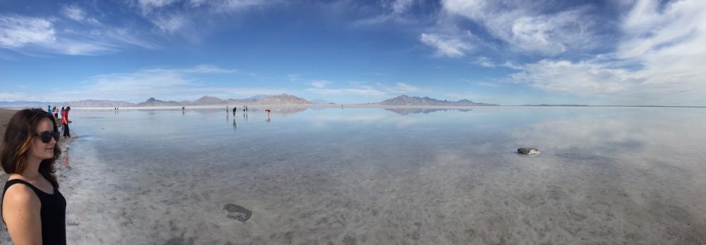 Salt Flats near Nevada/Utah border
