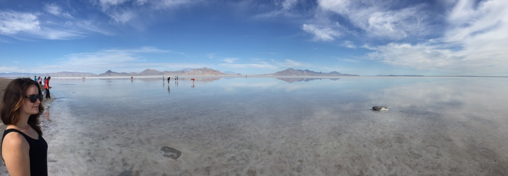 Salt Flats near Nevada/Utah border