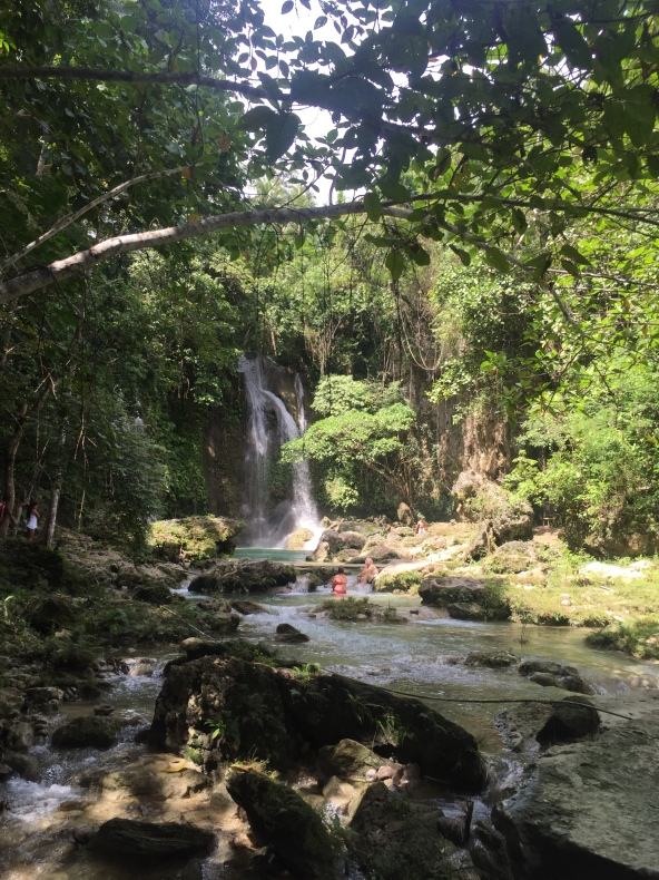 Pahangog Falls, Bohol, Philippines