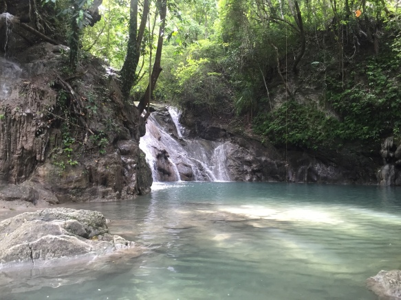 Dam-agan Falls, Bohol, Philippines