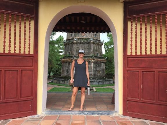 Thiên Mụ Pagoda, Hue, Vietnam