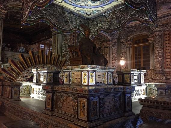 Khải Định tomb, Hue, Vietnam