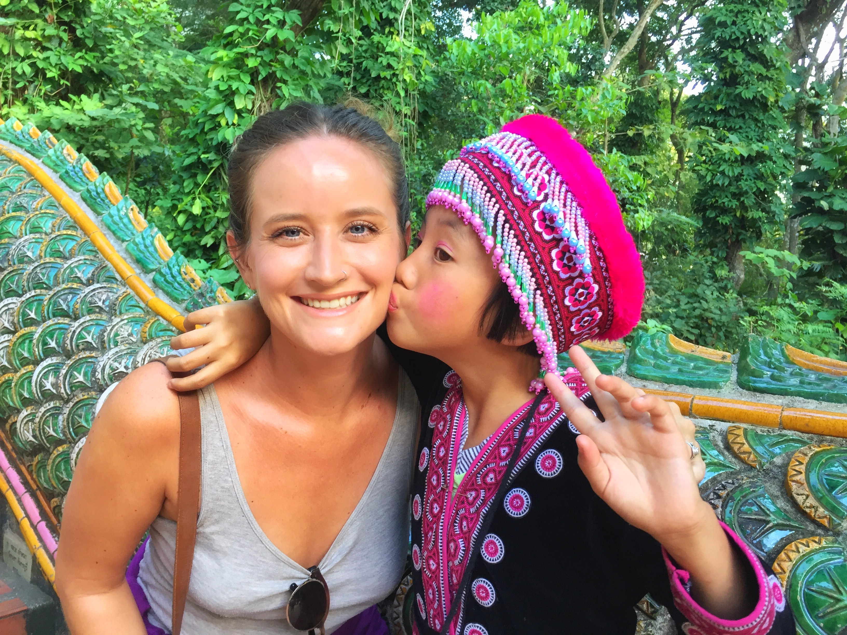 Wrappin' It Up In Chiang Mai With A Waterfall & A Temple