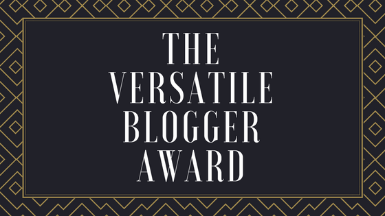 R.O.A.D. Was Nominated For the Versatile Blogger Award!